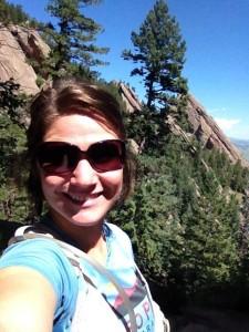 Trail run in Colorado.